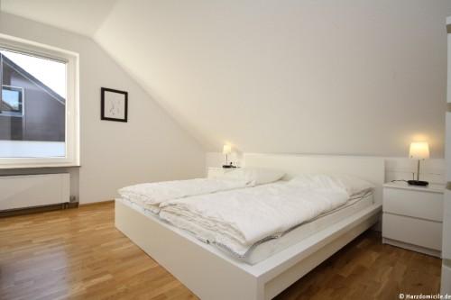 Schlafzimmer 4 (3. Ebene) - Ferienhaus Jennie