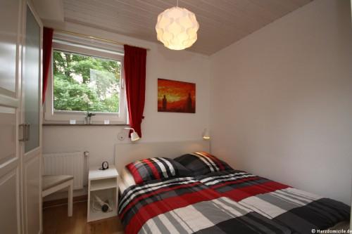 Schlafzimmer – Ferienwohnung Alex