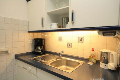Küche – Ferienwohnung Christer