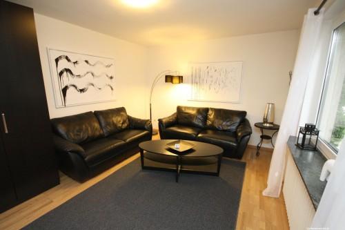 Wohnzimmer – Ferienhaus Carl
