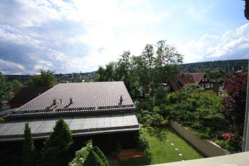 Blick vom Schlafzimmer - Hütteberg-Alm
