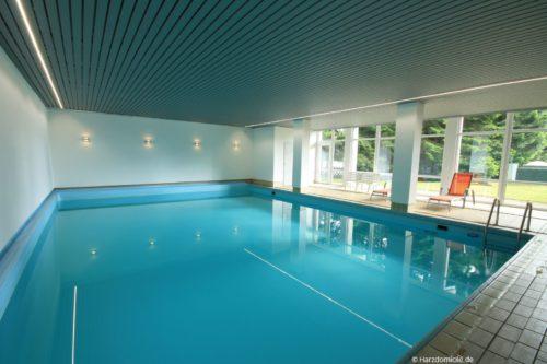 hauseigener Pool – Suite Rübezahl