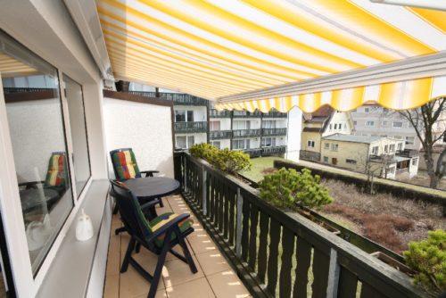 Balkon - Ferienwohnung Maximilian