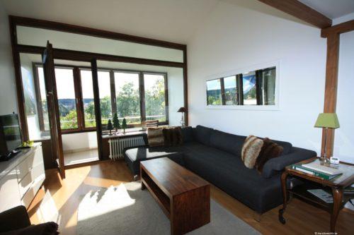 Wohn- /Essbereich – Panorama Suite