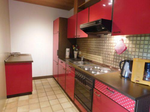 Küche – Ferienwohnung am Glockenberg