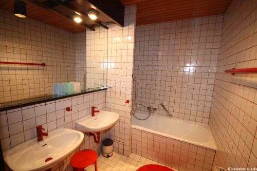 Badezimmer – Ferienwohnung am Glockenberg