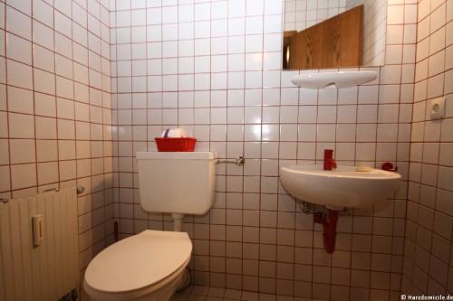 WC – Ferienwohnung am Glockenberg