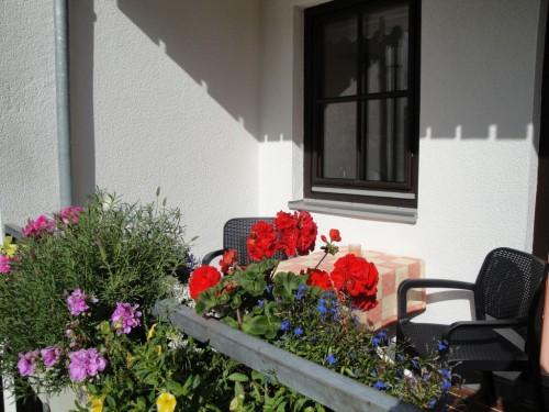 Balkon – Ferienwohnung Bergblume