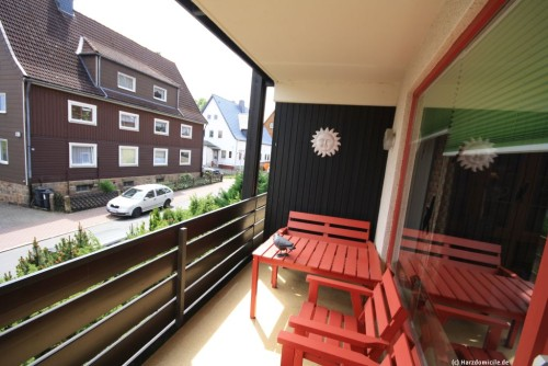Balkon – Ferienwohnung Sarah