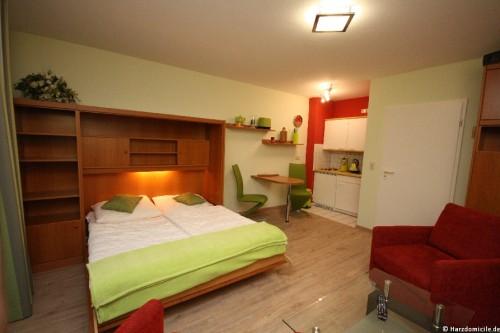 Doppelschrankbett – Apartment an der Wurmbergseilbahn