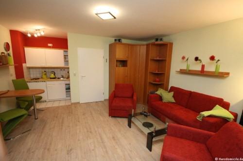 Wohn- /Essbereich – Apartment an der Wurmbergseilbahn