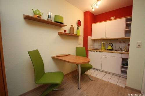 Küchenzeile – Apartment an der Wurmbergseilbahn