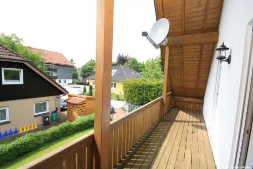 Balkon – Ferienhaus Huckla