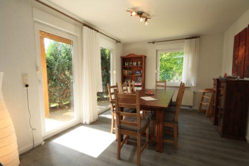 Wohn- /Essbereich (Erdgeschoss) – Ferienhaus Huckla