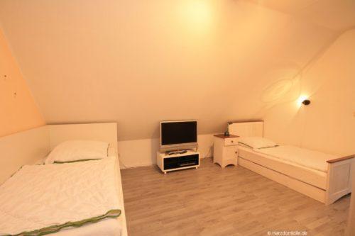 Schlafzimmer 3 – Ferienhaus Huckla