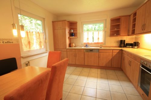Küche (Erdgeschoss) – Ferienhaus Huckla