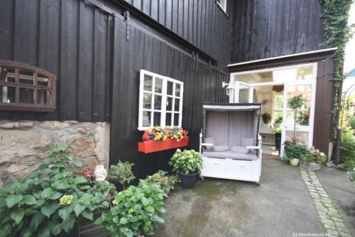 Innenhof – Ferienhaus Amselnest