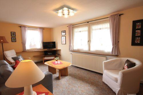 Wohnzimmer – Ferienhaus Amselnest
