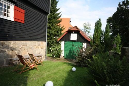 Garten – Ferienhaus Braunlage