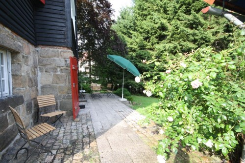 Terrasse – Ferienhaus Braunlage
