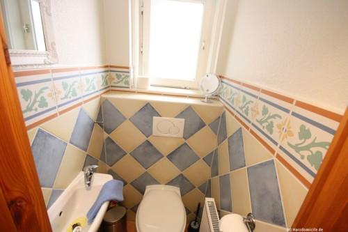 Gäste-WC – Ferienwohnung Morgensonne