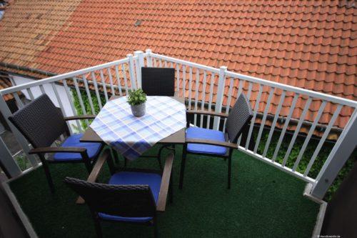 Balkon – Ferienwohnung Morgensonne