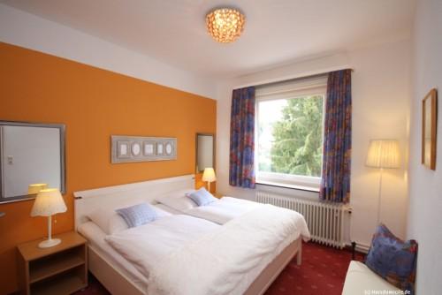 Schlafzimmer I – Ferienwohnung Abendsonne