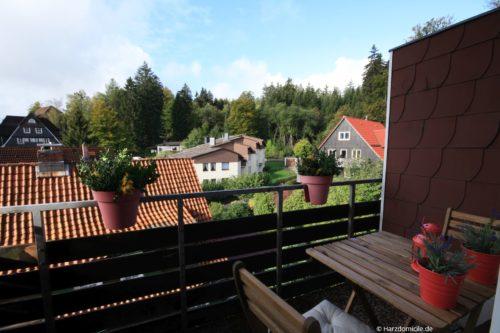 Balkon – Ferienwohnung A-Viva
