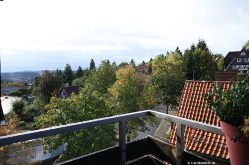 Blick vom Balkon – Ferienwohnung A-Viva