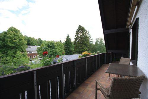 Balkon – Ferienwohnung Bergrose