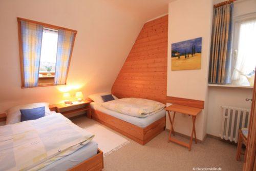 Schlafzimmer – Apartment Morgentau