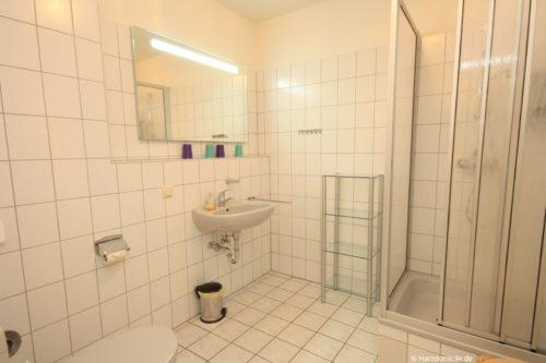 Badezimmer – Ferienwohnung an der Bode