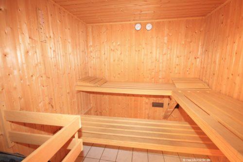 Sauna – Ferienwohnung an der Bode