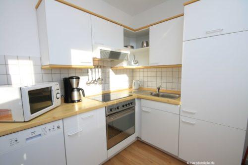 Küche – Ferienwohnung an der Seilbahn