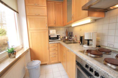 Küche – Ferienwohnung Luisa