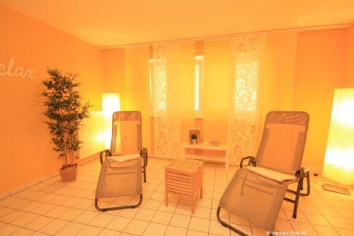 Sauna und Ruheraum – Ferienwohnung an der Seilbahn