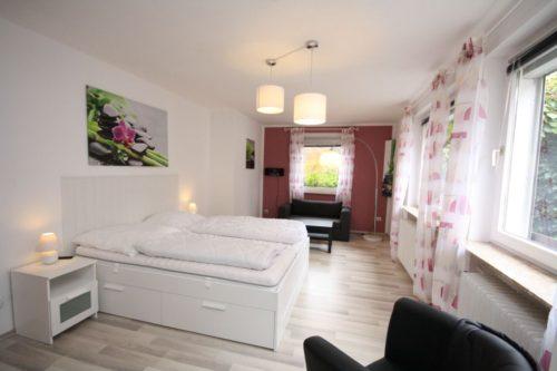 Schlafzimmer 1 - Ferienhaus Heine