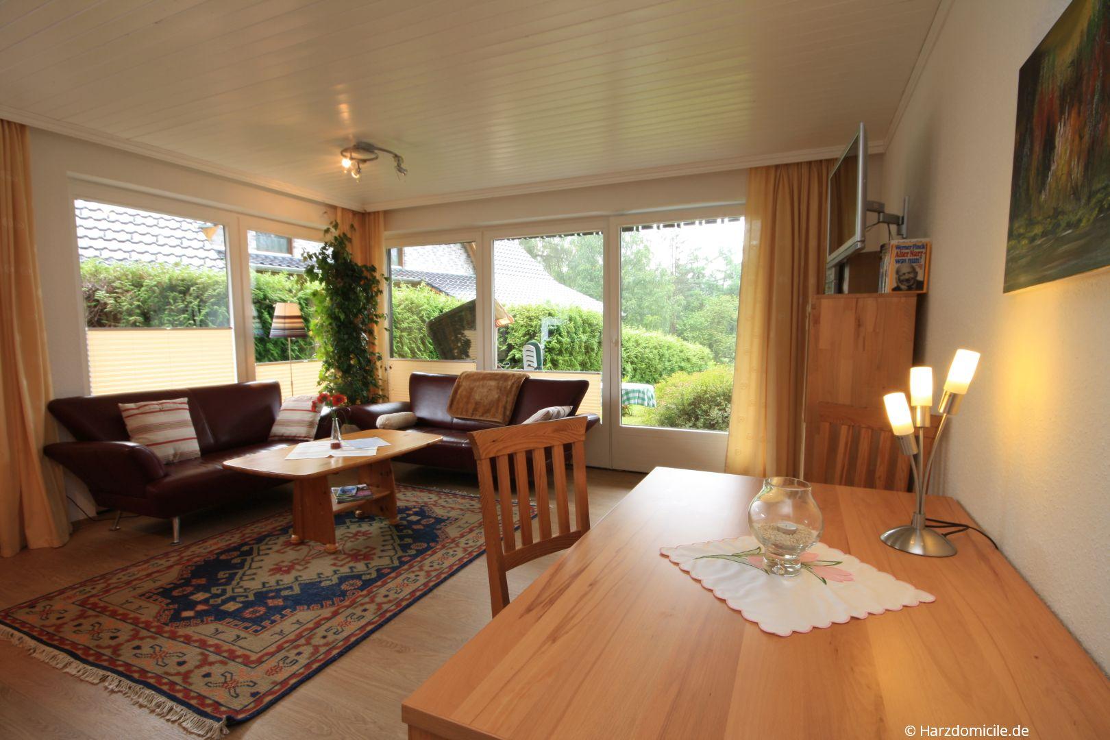 Offener Wohn Essbereich wohn essbereich mit offener küche ferienwohnung mohn harzdomicile