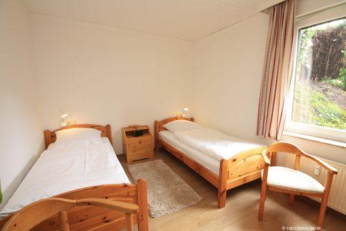 Schlafzimmer – Ferienwohnung Mohn