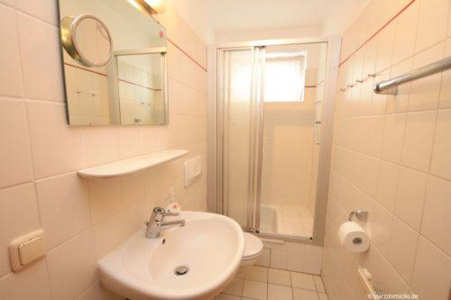 Badezimmer – Ferienwohnung Mohn