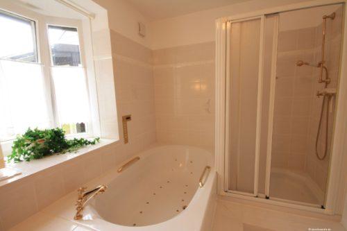 Badezimmer - Ferienwohnung Rose