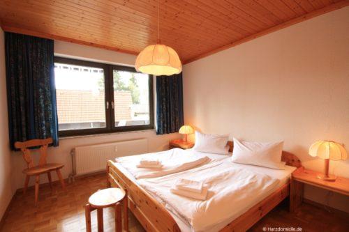 Schlafzimmer – Ferienwohnung Sanne