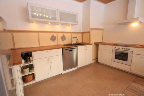 Wohn- /Essbereich mit offener Küche – Gruppenhaus Fernblickmit Küche – Gruppenhaus Fernblick