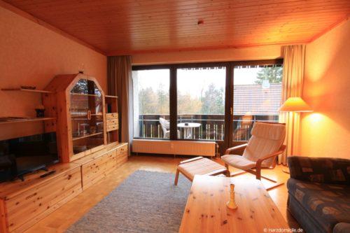 Wohn- /Essbereich – Ferienwohnung Sanne