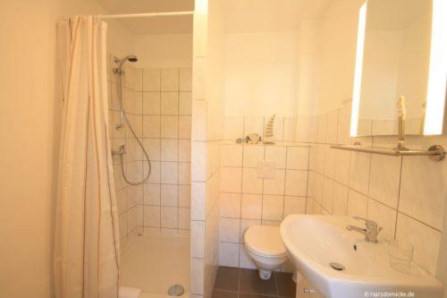 Badezimmer – Ferienhaus Fernblick