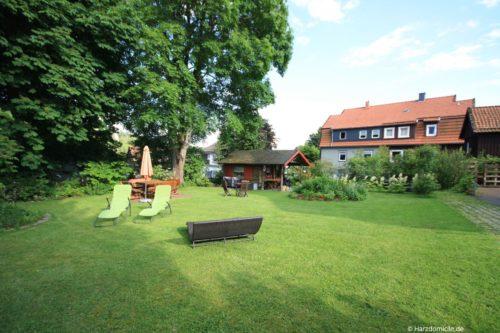 Garten – Ferienhaus Fernblick
