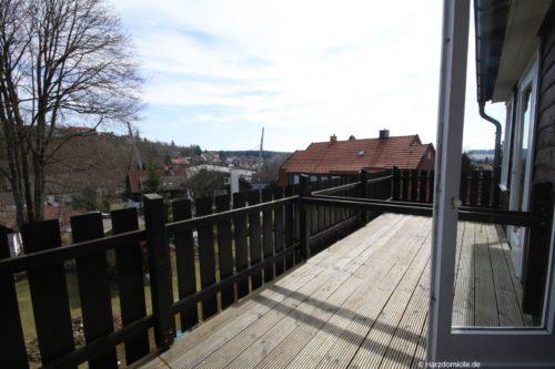 Balkon – Ferienhaus Fernblick
