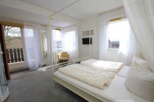 Schlafzimmer 2 – Ferienhaus Fernblick