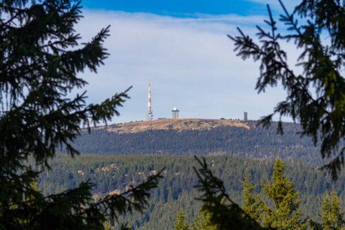 Blick auf den Brocken, den höchsten Gipfel im Harz. | © Andreas Levi