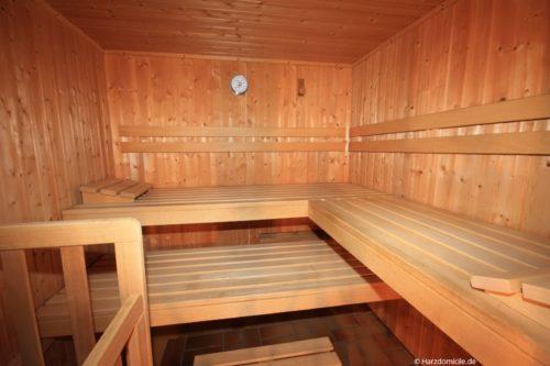 Sauna – Ferienwohnung Bergkristall